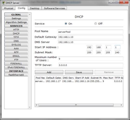 DHCP-LAN2