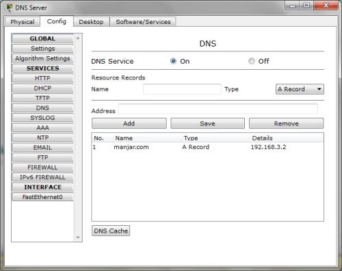 PT DNS Server