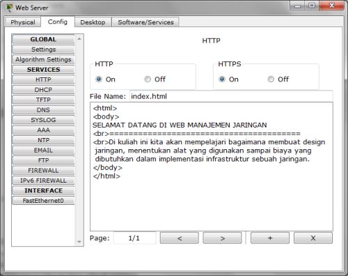 PT Web Server